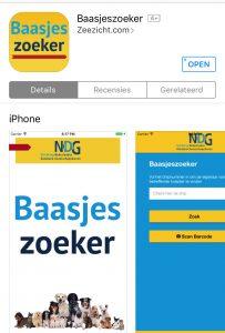 Baasjeszoeker app