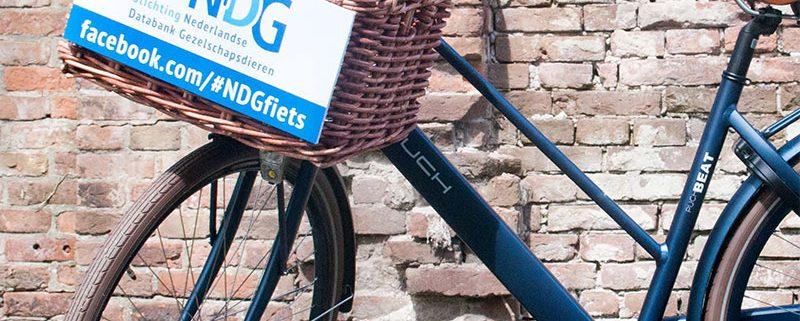 Winactie NDG fiets op Animal Event