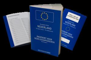 Het NDG dierenpaspoort met gepersonaliseerde omslag, het goedkoopste paspoort van Nederland